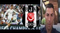 Ronaldo'da ''Come to Beşiktaş Çılgınlığına Uydu!
