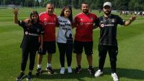 Orhan Ak'a Tepki Gösteren Funda Kavak Beşiktaş Antrenmanında!