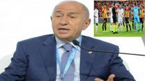 Nihat Özdemir Göztepe-Beşiktaş  Maçı İçin Topu Taca Attı!