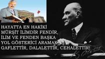 ''TÜRKİYE ASLA KARANLIĞA DEĞİL İLİMLE AYDINLIĞA KOŞACAKTIR!''